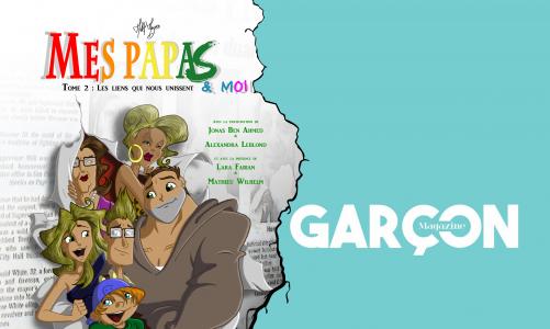 Mes papas & moi 2 revient chez Garcon Edition, sans prévenir ni les contributeurs, ni l'auteur !